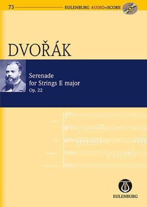 Sérénade Pour Cordes en Mi Op.22 DVORAK Partition laflutedepan