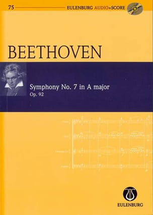 Ludwig van Beethoven - Symphonie N°7 en la Majeur Op.92 - Partition - di-arezzo.fr