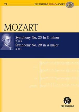 Symphonie N° 25 K.183 & Symphonie N°29 K.201 - laflutedepan.com