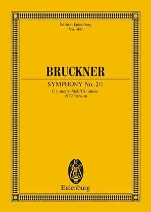 Symphonie N°2/1 en Ut Mineur BRUCKNER Partition laflutedepan