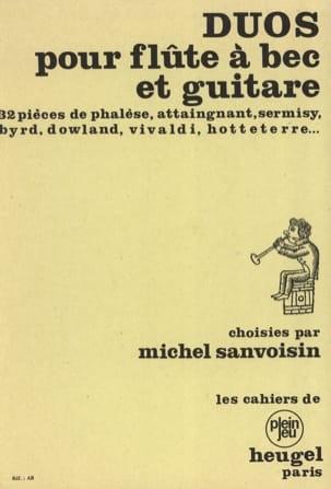 Duets for recorder and guitar - Sheet Music - di-arezzo.com