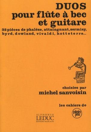 Duos pour flûte à bec et guitare Partition Duos - laflutedepan