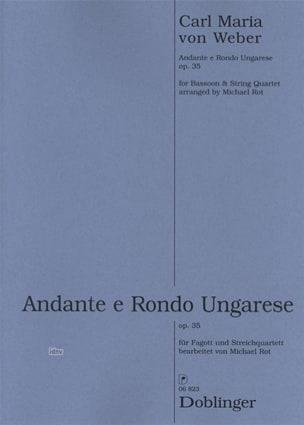 Carl Maria von Weber - Andante e Rondo Ungarese op. 35 - Sheet Music - di-arezzo.com