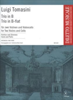 Luigi Tomasini - Trio in Bb - Sheet Music - di-arezzo.com