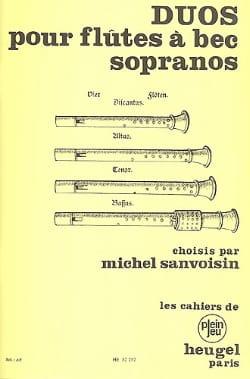 Duos pour flûte à bec sopranos - Partition - laflutedepan.com