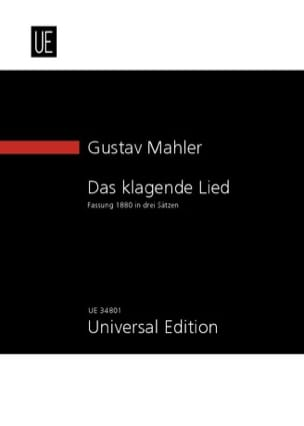 Das Klagende Lied 1880 - MAHLER - Partition - laflutedepan.com