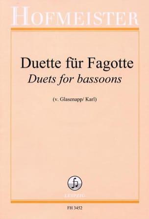 Duette Für Fagotte - Partition - di-arezzo.co.uk
