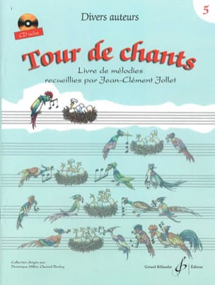 Jean-Clément Jollet - Tour de Chants Volume 5 - Partition - di-arezzo.fr