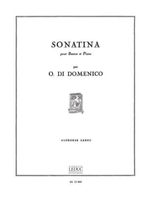 Sonatina - Olivio Di Domenico - Partition - Basson - laflutedepan.com