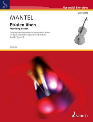 Etüden Uben Vol.2 Gerhard Mantel Partition Violoncelle - laflutedepan