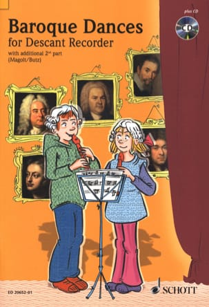 Baroque Dances For Descant Recorder - laflutedepan.com
