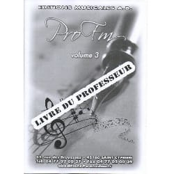 - Pro FM Vol 3 - Teacher's Booklet - Sheet Music - di-arezzo.co.uk