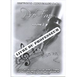 - Pro FM Vol 2 - Teacher's Booklet - Sheet Music - di-arezzo.com
