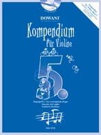 Kompendium Pour Violon Vol.5 - Partition - di-arezzo.fr