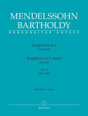 MENDELSSOHN - Symphony No. 3 Scottish Minor Op. 56 - Sheet Music - di-arezzo.com