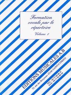 Formation Vocale par le Repertoire Volume 1 - laflutedepan.com