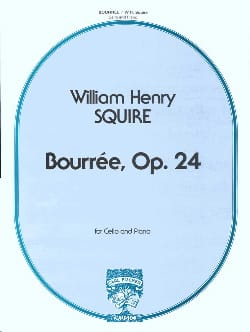 William Henry Squire - Bourrée, Opus 24 - Partition - di-arezzo.fr