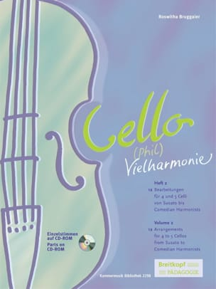 Roswitha Bruggaier - Cello Phil Vielharmonie Volume 2 - Sheet Music - di-arezzo.com