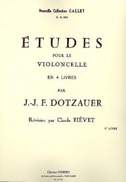 Friedrich Dotzauer - Studies Vol 1 - Sheet Music - di-arezzo.co.uk