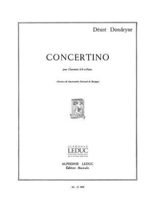 Désiré Dondeyne - Concertino - Sheet Music - di-arezzo.co.uk