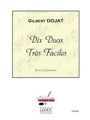 Gilbert Dojat - 10 Duos Très Faciles - Partition - di-arezzo.fr
