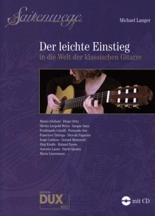 Michael Langer - Der Leichte Einstieg in die Welt of Klassischen Gitarre - Sheet Music - di-arezzo.co.uk