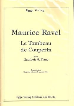 Maurice Ravel - Le Tombeau de Couperin - Partition - di-arezzo.fr