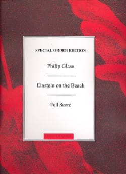 Einstein On The Beach Philip Glass Partition laflutedepan