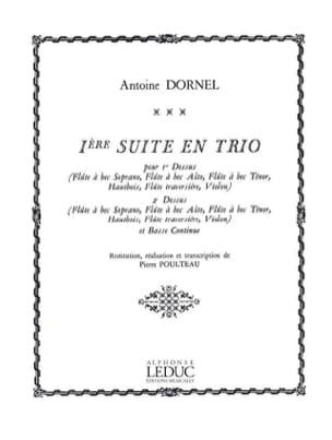 Dornel Antoine / Poulteau - 1st Trio Suite - Sheet Music - di-arezzo.com