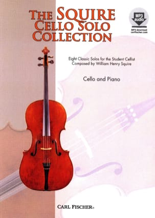 Squire Cello Solo Collection Squire W. H. Partition laflutedepan