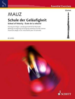 Rudolf Mauz - Ecole de la Vélocité - Partition - di-arezzo.fr