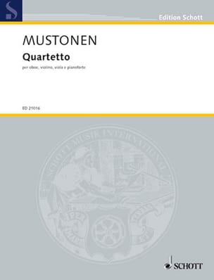 Olli Mustonen - Quartetto 2010 - Sheet Music - di-arezzo.co.uk