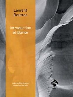 Laurent Boutros - Introduction et Danse - Partition - di-arezzo.fr
