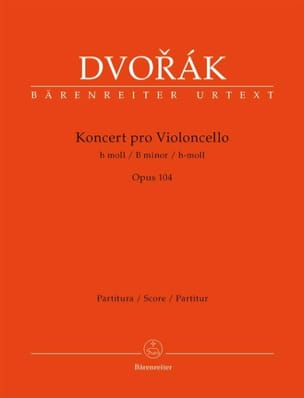 DVORAK - Concerto in Si Min. Opus 104 - Driver - Sheet Music - di-arezzo.co.uk