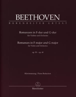 BEETHOVEN - Romances in F Major Op. 50 and G Major Op. 40 - Sheet Music - di-arezzo.com
