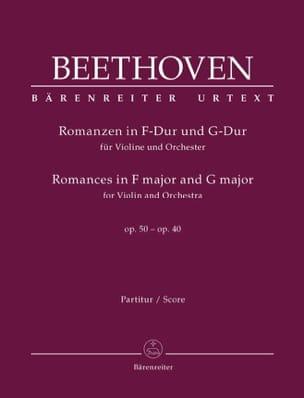 Romances en Fa Majeur Op.50 et Sol Majeur Op.40 - laflutedepan.com