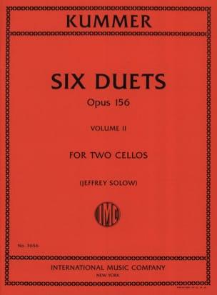 6 Duos Op. 156 Volume 2 - Friedrich-August Kummer - laflutedepan.com