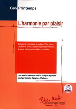 L' Harmonie par Plaisir Guy Printemps Partition laflutedepan