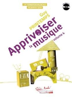 Apprivoiser la Musique Volume 4 - CD Inclus - laflutedepan.com