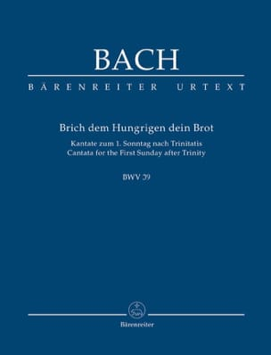 BACH - Cantata BWV 39 - Brich Dem Hungrigen Dein Brot - Sheet Music - di-arezzo.co.uk