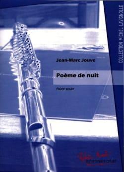 Jean-Marc Jouve - Poème de Nuit - Partition - di-arezzo.fr