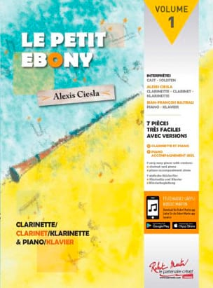 Alexis Ciesla - The Little Ebony Volume 2 - Sheet Music - di-arezzo.co.uk