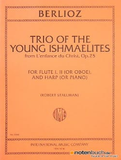 Trio Of The Young Ishmaelites Opus 25 BERLIOZ Partition laflutedepan