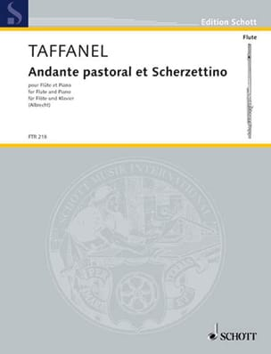 Paul Taffanel - Andante Pastoral and Scherzettino - Sheet Music - di-arezzo.com