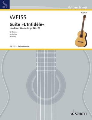 Silvius Leopold Weiss - Suite L' Infidèle - Partition - di-arezzo.fr
