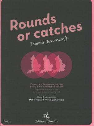 Rounds or Catches - Clé de Sol Thomas Ravenscroft laflutedepan
