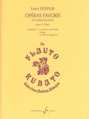 Franz Doppler - Favorite Operas in Duo Form Volume 1 - Sheet Music - di-arezzo.co.uk