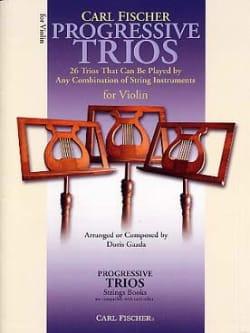Doris Gazda - Progressive Trios For Strings - Violons - Partition - di-arezzo.fr