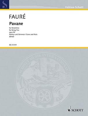 Gabriel Fauré - Pavane Opus 50 - Partition - di-arezzo.fr