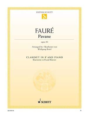 Gabriel Fauré - Pavane Op. 50 - Partitura - di-arezzo.it